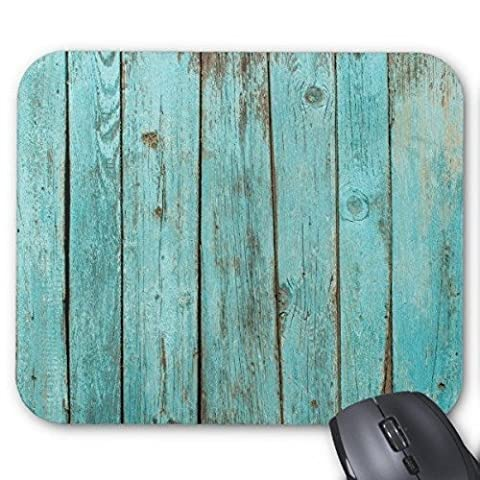 Timothy Wood - Turquoise Wood Bleu sarcelle Barn Bois patiné