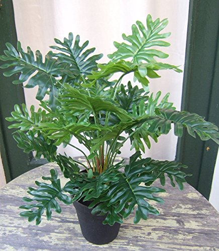 Künstlicher Split Philodendron im Topf ca. 40cm Top Qualität