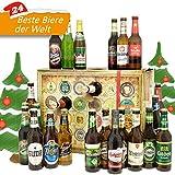 Bier Adventskalender Welt und Deutschland mit San Miguel + Saigon + Rothaus + mehr ... Ein tolles Geschenk für Männer. Bierset + Geschenk, Biersorten aus aller WELT & DEUTSCHLAND. Bieradventskalender 2018 - mit 24 Biersorten in FLASCHEN Adventskalender Bier Welt 2018 - Adventskalender für Männer, Adventskalender für Erwachsene, Bierkalender Adventskalender Alkohol, Weihnachtskalender mit Bier, Bier Adventskalender Weihnachtsgeschenke Bier Männer