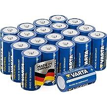 Varta Confezione Industrial 20 Batterie Alcaline, Tipo C LR14 Baby Mezzatorcia