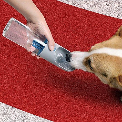 ender, tragbar Hund Cat Travel Water Drink Flasche Spender Futternapf, Hunde Outdoor Trinkbecher ()