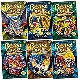 Beast Quest Pack: Series 10, 6 books, RRP £29.94 (Noctila; Shamani; Lustor; Voltrex; Tecton; Doomskull).