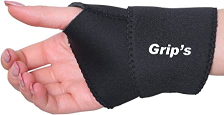 Wrist Support/Wrist Brace/Wrist Grip for Pain/Gym/Exercises from Grip's - Universal (C14)