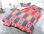 Pahwa's Handloom House Kiara 100% Cotton Double Bedsheet with 2 Pillow Covers