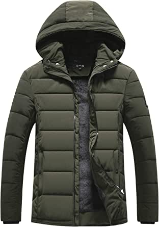 Men Coat Winter Outdoor Fashion Coat Men's Thickening Short Body Slim Jacket