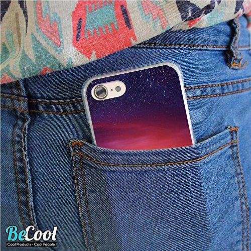 BeCool®- Coque Etui Housse en GEL Flex Silicone TPU Iphone 8, Carcasse TPU fabriquée avec la meilleure Silicone, protège et s'adapte a la perfection a ton Smartphone et avec notre design exclusif. Fro L1240
