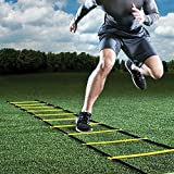 GHB Agility Ladder Speed Ladder 6M 12-Rung for Football Speed Training