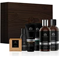 The Man Company Charcoal Grooming Kit By The Man Company (Body Wash, Shampoo, Face Scrub, Face Wash, Cleansing Gel, Soap…