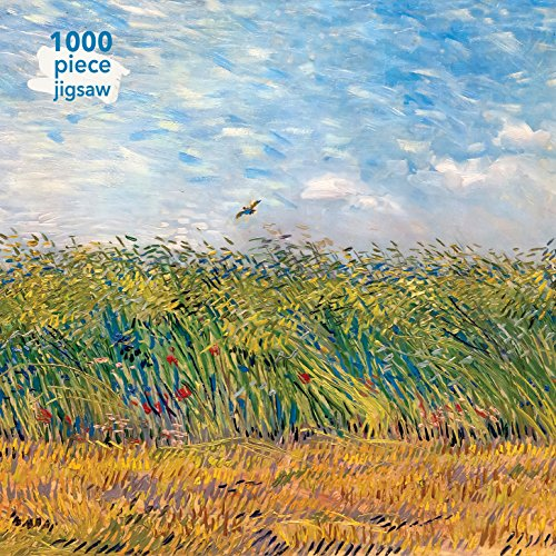 Adult Jigsaw Vincent Van Gogh: Wheatfield with a Lark: 1000 Piece Jigsaw Puzzle (1000-piece jigsaws)