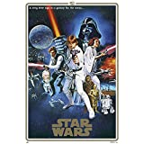 Grupo Erik Editores Poster Star Wars 40 Aniversario One Sheet B