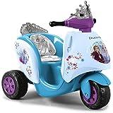 Feber Scooty - Moto Scooter de batería Frozen 2, Para niños y niñas desde los 12 meses a los 4 años, 6V (Famosa 800012446)