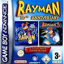 GameBoy Advance - 2 in 1: Rayman 3 + 10th Anniversary Advance