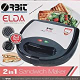 Orbit Elda 2 in 1 Sandwich Maker