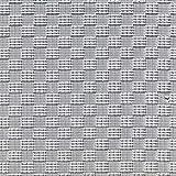 Fabulous Fabrics Jacquard Karos Metallic – Weiss/grau —