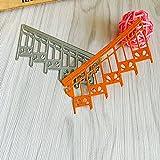 Xmiral Fustelle per Scrapbooking per Carta Cutting Dies Metallo Fustella Stencil #19031301L, Accessori per Big Shot e Altre Macchina(H)