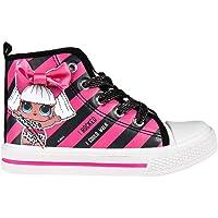 L O L Surprise ! Scarpe da Bambina, Scarpe Sportive per Bambine, Design Glitter, Sneaker Casual per Ragazze, Chiusure in…