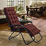 AMYDREAMSTORE Rechteck Plüsch Verdicken sie Sessel Sitzkissen Boden Tatami-pad Indoor Outdoor Bench Kissen Schaukelstuhl Kissen(Kein Stuhl)-H 48x160cm(19x63inch)