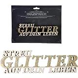 Home Collection Holz Schriftzug Holzschrift Holzspruch Heimathafen 20x8,8cm