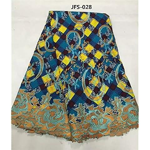 Nuovo design classico prezzo ragionevole tessuto della cera del cotone africano collegare il tessuto di (Dobby Pizzo)