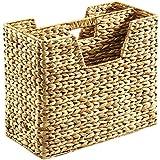 Locker 01227–06Porte-revues, en jacinthe d'eau tressée, naturel, 40x 20x 23cm