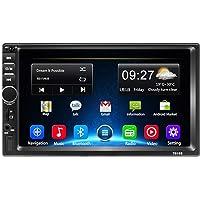 Autoradio 2 Din Android 8.1 de Navigation GPS de Voiture stéréo avec Bluetooth - 7 Pouces 1080P Écran Tactile Quad Core…