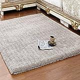 Love QAZ Wohnzimmer Teppich Moderner, minimalistischer Verschlüsselung Verdickung Schlafzimmer Bett Farbe Rutschfester Bodenbelag (Color #5)