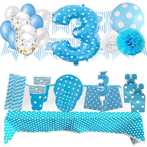 Set de Artículos Accesorios Completo para Decoración Fiestas Cumpleaños Bebé Lote Sirve...
