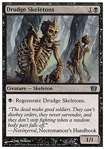 Drudge Skeletons (Magic: the Gathering - Drudge Skeletons - Eighth Edition by Wizards of the Coast)
