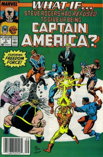 What If? #3 : What If Steve Rogers Had Refused to Give Up Being Captain America? (Marvel Comics)