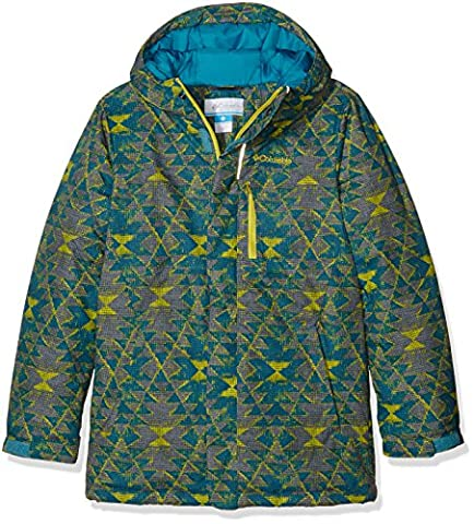 Columbia Boy's Alpine Free Fall Ski Jacket - Deep Marine