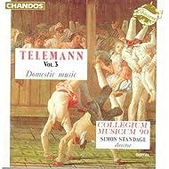 Telemann: Domestic Music, Vol. 3