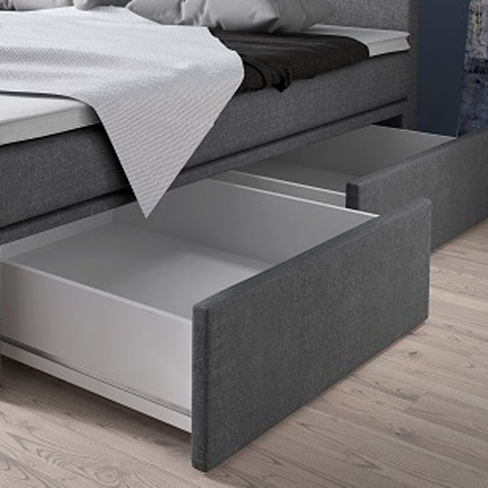 doppelbett mit bettkasten 180x200 excellent bettgestell. Black Bedroom Furniture Sets. Home Design Ideas