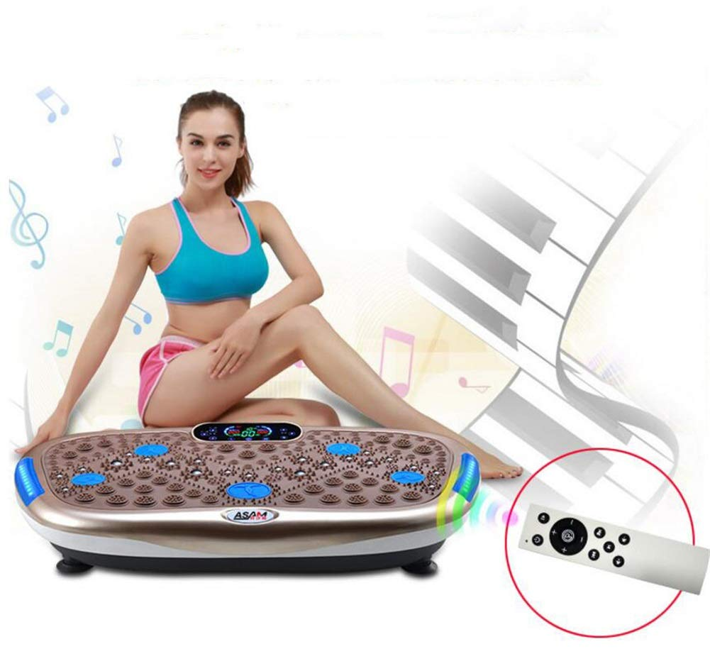 61PDCKAxTlL - Rocket Vibration Machine,Fitness Exercise Equipment To Lose Weight Tone Muscles