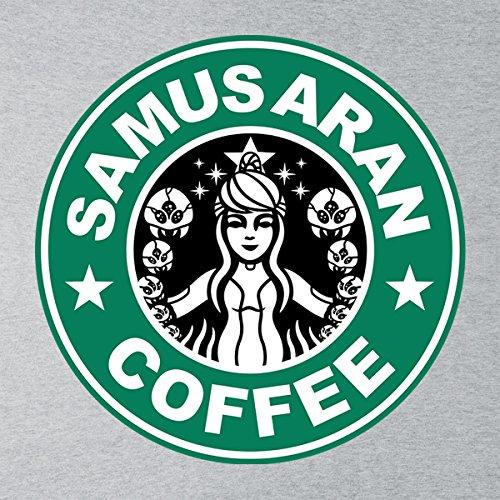 Metroid Starhunt Samus Aran Coffee Men's Vest Heather Grey