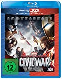 DVD Cover 'The First Avenger: Civil War [Blu-Ray + Blu-Ray 3D]