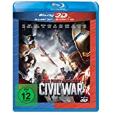 The First Avenger: Civil War [Blu-Ray + Blu-Ray 3D]