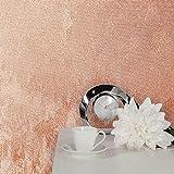 Crown Alexis Strukturtapete, rose gold, Ganze Rolle