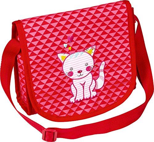 Die Spiegelburg Kleine Freunde Umhängetasche Katze Tasche Kindergarten Mädchen Rosa , Kleinkind, Katze