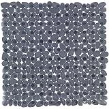 Wenko 22500100alfombra de ducha Paradise Antracita 54x 54cm plástico 55.0x 6.0cm