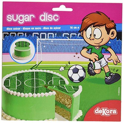 Dekora Fútbol Disco de Azúcar - 15 gr