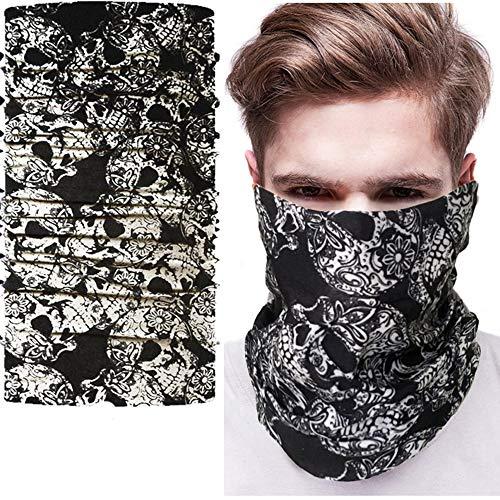 Preisvergleich Produktbild NAN® Taro-Maske Multifunktionales Nahtloses Kopftuch Magischer Hut Der Vielzahl Halloween Festival Kopfbedeckung Maske - [10 Beutel], 13