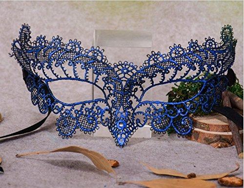 Venezianischen Metall Filigran Masquerade Maske Prom Ball Verona Masken Metall Laserschneiden Kristall (Single Halloween Kostüm Mann)