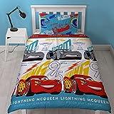 """Disney Cars 7,6cm Lightning """"Housse de couette Motif imprimé de répétition, Multicolore, Unique"""