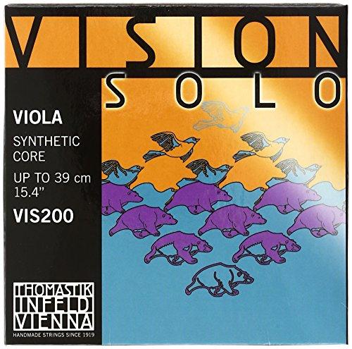 THOMASTIK VISION VIS 200 MEDIUM / SOLOIST JUEGO COMPLETO/VIOLA 4/4