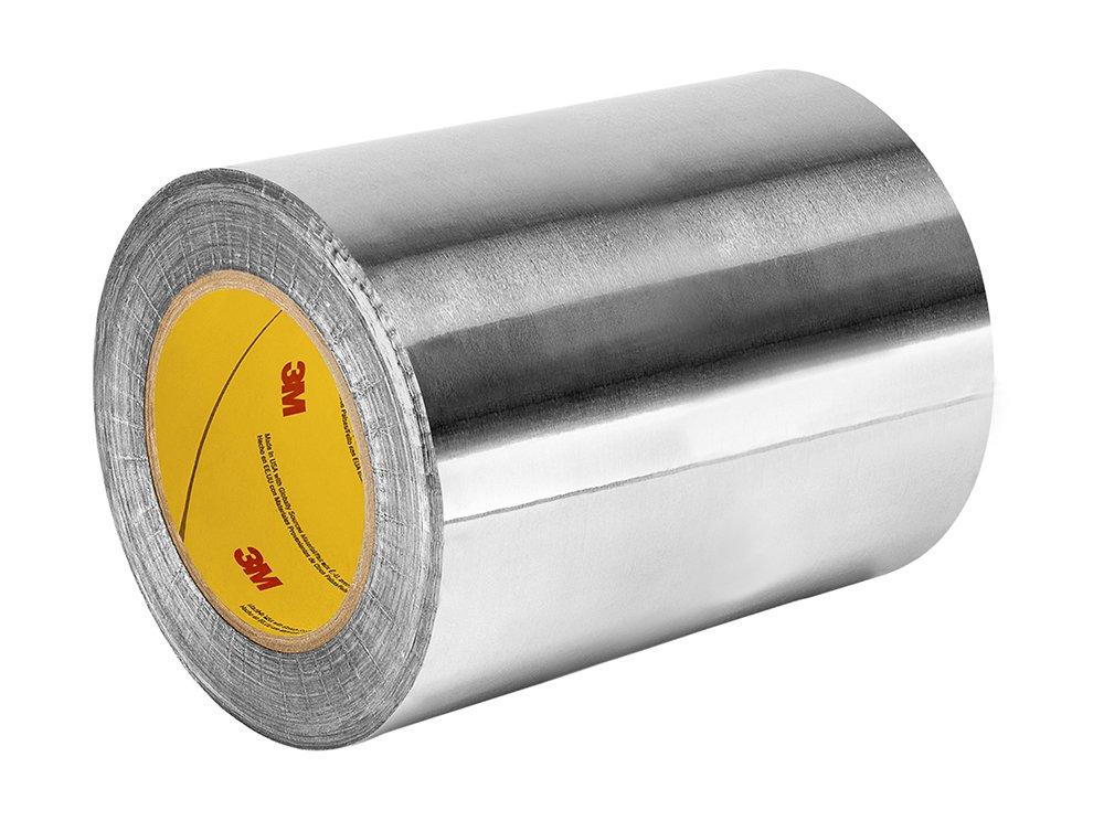 TapeCase 433 – Cinta adhesiva de aluminio y silicona de alta temperatura, 15,2 x 152,4 m, 15,2 x 152,4 m, 15,2 cm de grosor, 152,4 cm de longitud, 15,2 cm de ancho