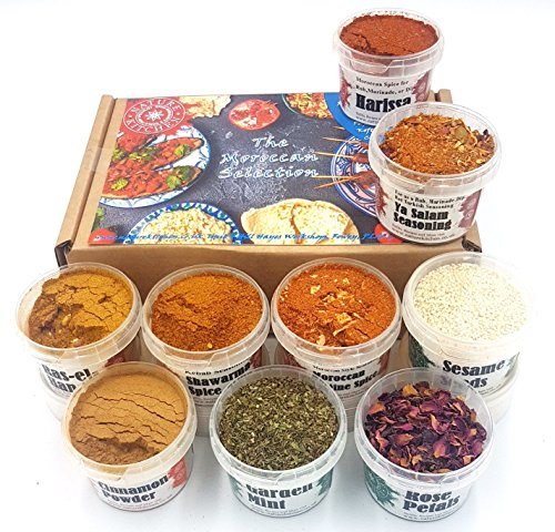 MOROCCAN SPICE AND SEASONING SELECTION