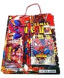 #10: DFS Simple Stationery Set - Spiderman (With Pencil Box, Pencils, Eraser, Sharpener, Ruler, Notebook)