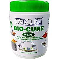 OZPOLISH 'Bio-Cure Basic' by Aquatic Habitat | Aquarium Probiotic and Beneficial Bacteria | Reduce Ammonia, Nitrite and Nitrate |Dry. 130 g (Includes Free 30g)