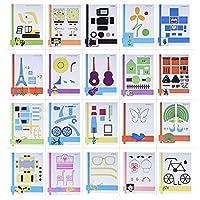 Nouveau à l'aide de votre stylet d'impression 3D ? Ces 20pcs papier à dessin peut vous donner quelques conseils sur comment créer un modèle 3D. Nous allons commencer dès maintenant et pratiquer plus ~Spécifications : Quantité : 20pcs/pack Taille : 23...