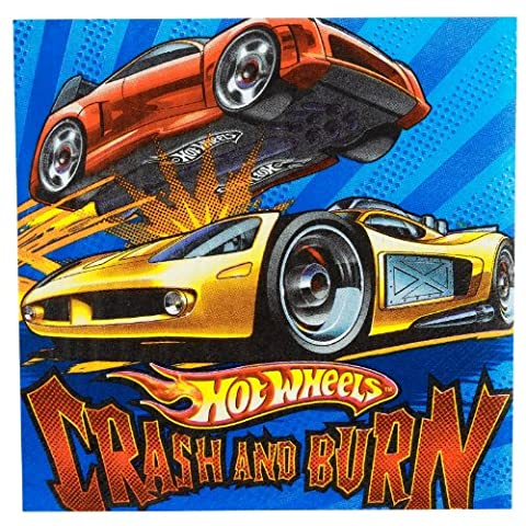 Amscan Hot Wheels Speed City 6-1/2